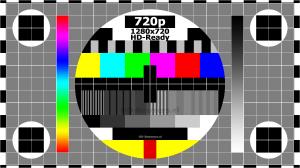 Test screen HD-Ready