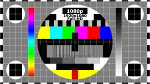 Test screen Full-HD testbeeld