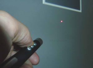 wireless presenter beamer projectie